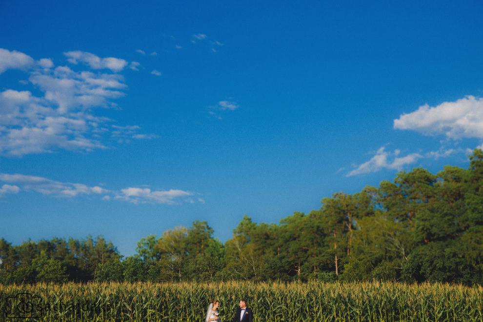Ślubne zdjęcia plenerowe