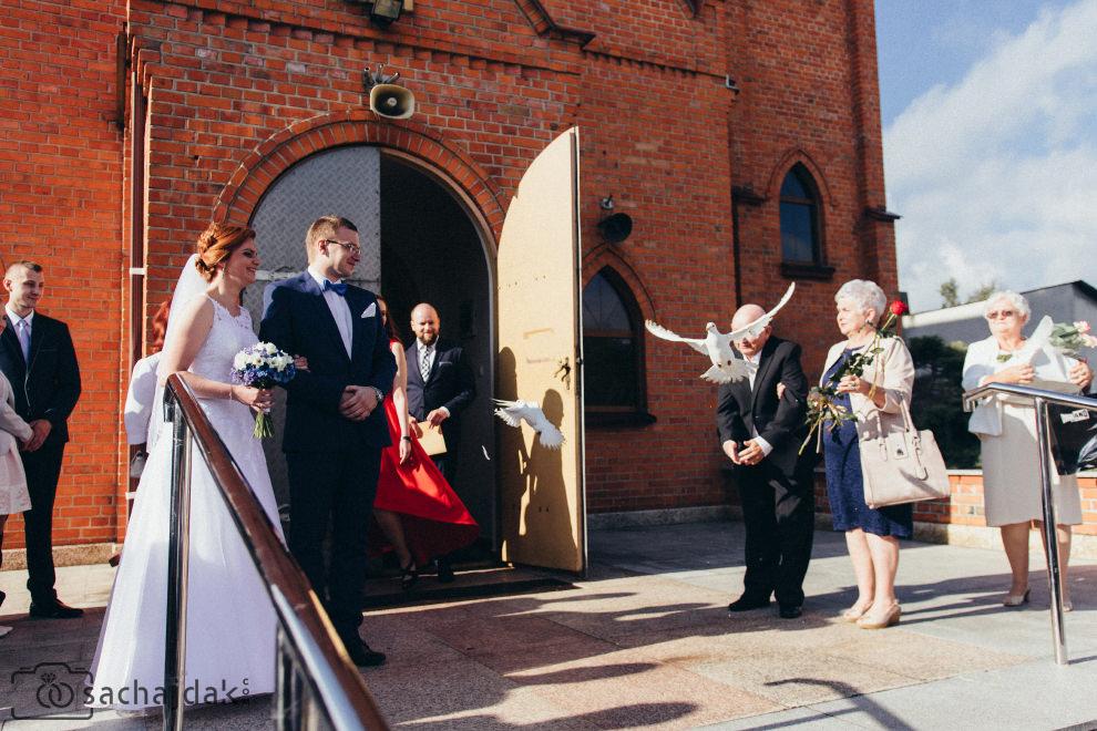 Zdjęcia ślubne kościół Czerniewice