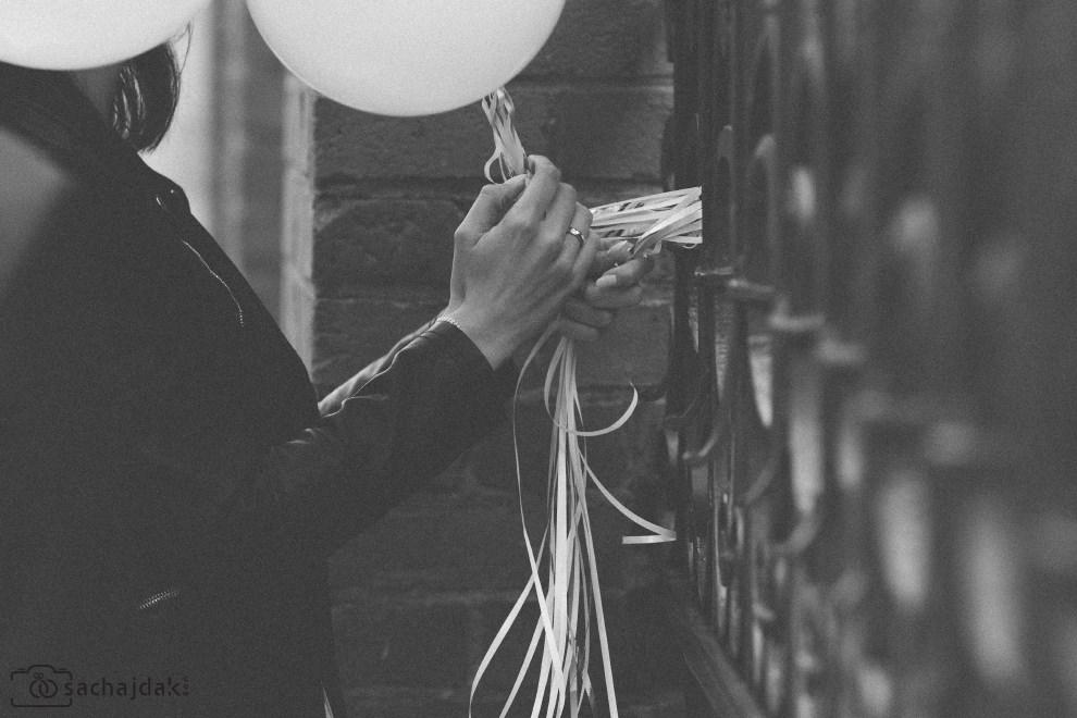 Plener ślubny balony