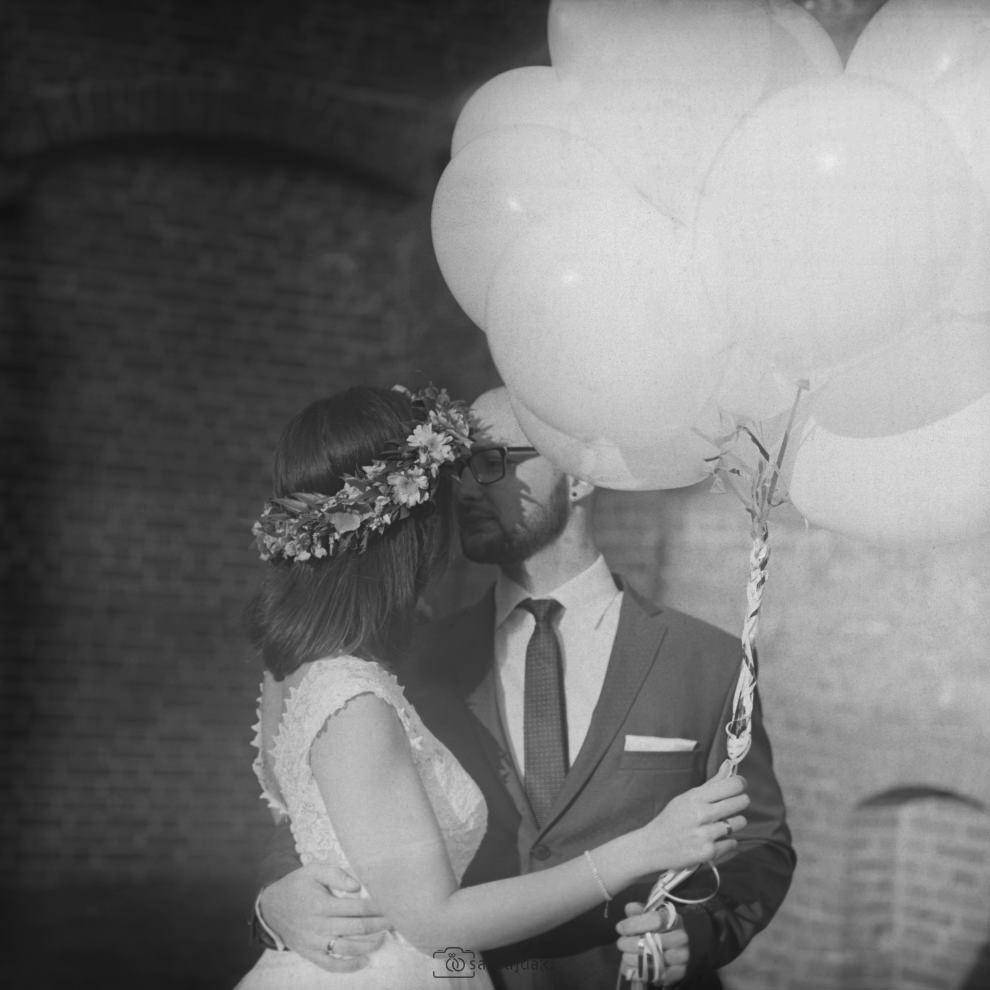 Balony plener ślubny