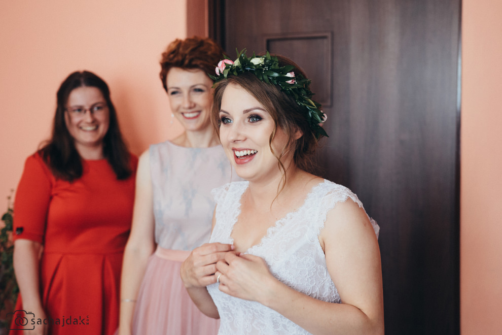 Przygotowania ślubne fotograf