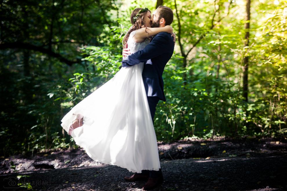 Plener ślubny las Płock