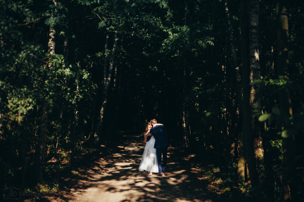 Plener ślubny fotografia ślubna