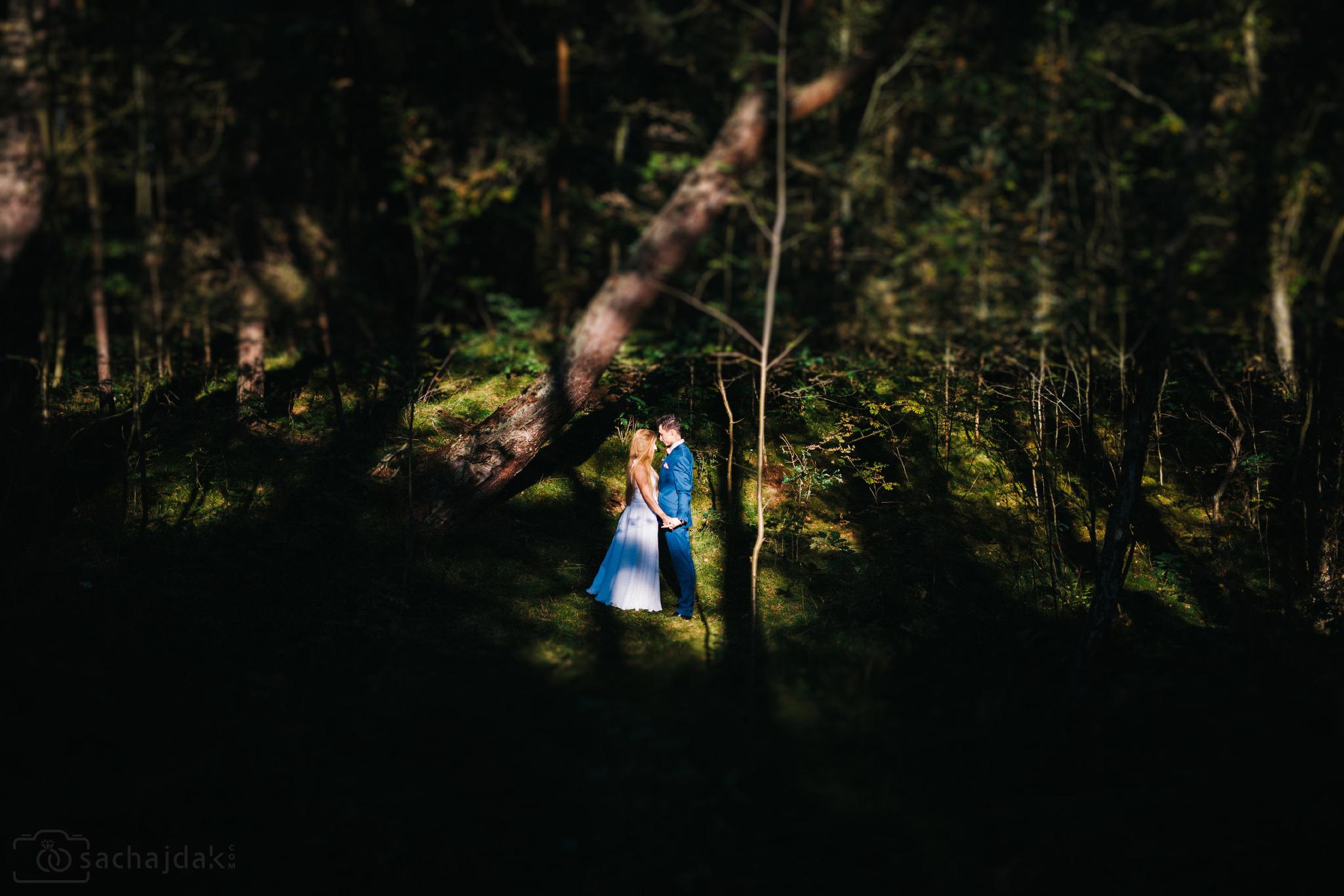 Plener ślubny nad morzem