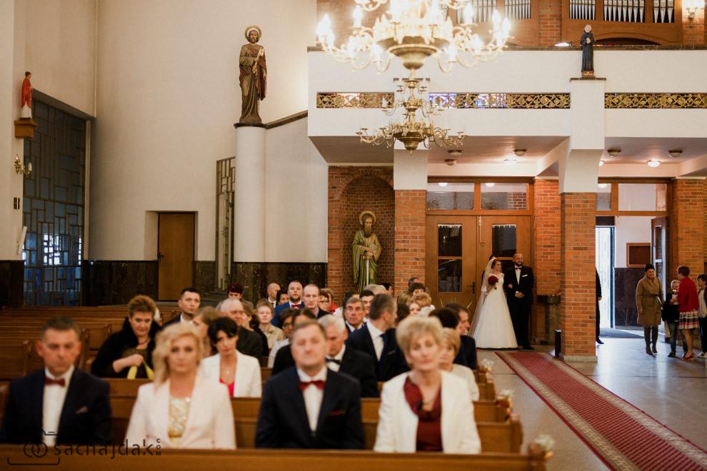 Fotografia ślubna ślub kościelny
