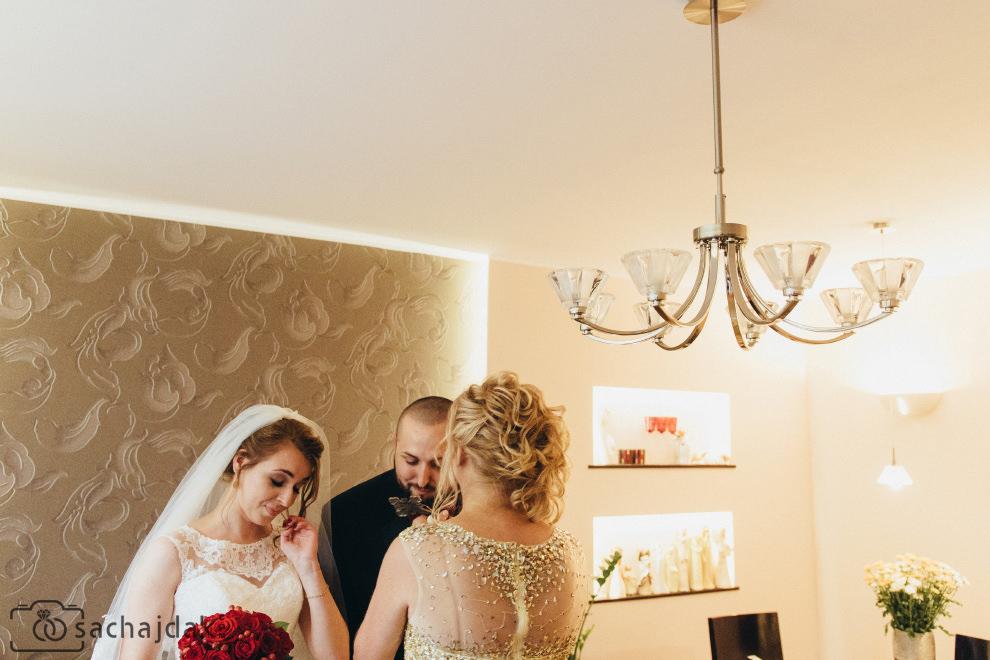 Zdjęcia ślubne przygotowania reportaż