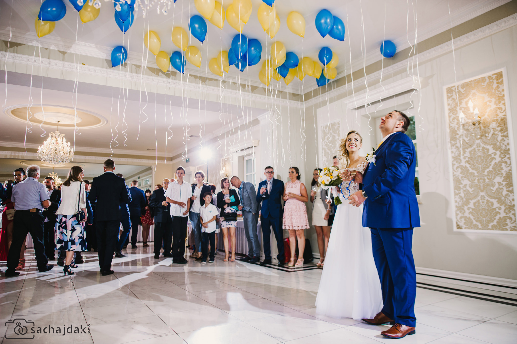 Reportażowe zdjęcia ślubne